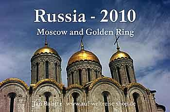 Calendar Russia 2010 – Moscow and Golden Ring