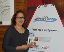 Marisol Barrios at NonProfit PR News Awards