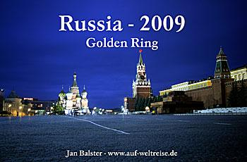 Title Calendar Russia Golden Ring 2009