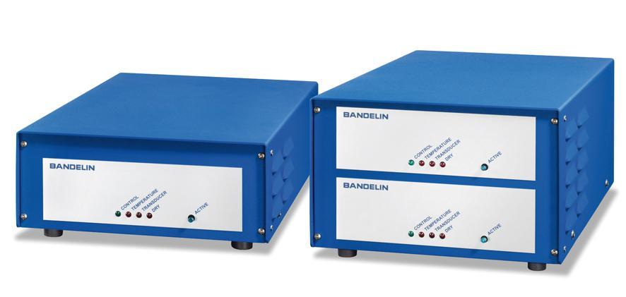 TG 1503 and TG 3003 expand the generators segment of BANDELIN