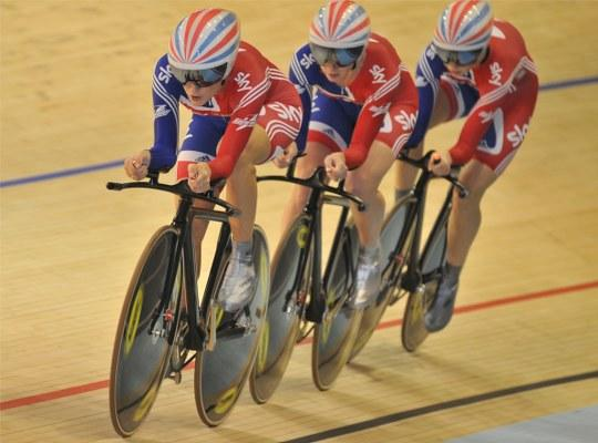 CNP sports nutrition helped Team GB at the World Championships 2010