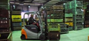 RTLS forklift tracking for process optimisation in foundry
