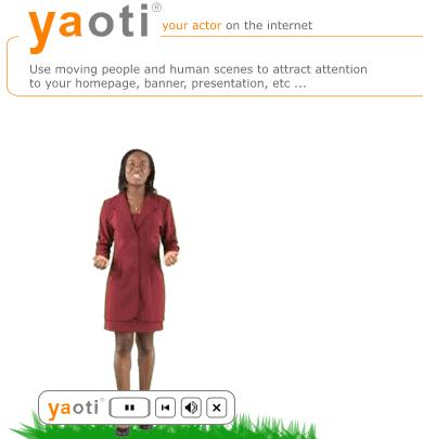 YAOTI - Your actor on the Internet