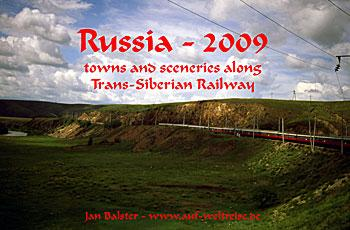 Calendar: Russia 2009 - towns and sceneries along Trans-Siberian Railway