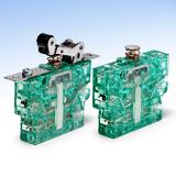 As a double NC contact switch, the S850 snap-action switch forms a redundant system.