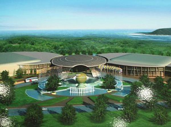 The winning design for the Phuket Exhibition and Convention Centre