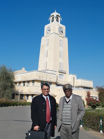 Proud to be BITSian Dr Rajiv Gupta from MGH Boston with Prof BR Natarajan Vice President BITS Pilani Alumni Association