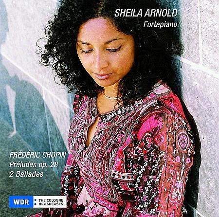 The Indian born Sheila Arnold plays Chopins Préludes op. 28