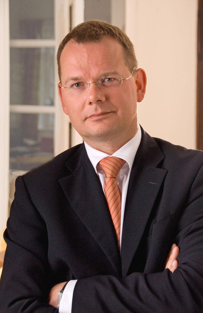 Dr. Michael Pesch, managing director of arvato systems