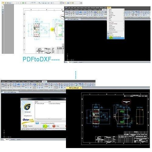 GstarCAD Offers Convenience for Reusing PDF-based CAD Drawings