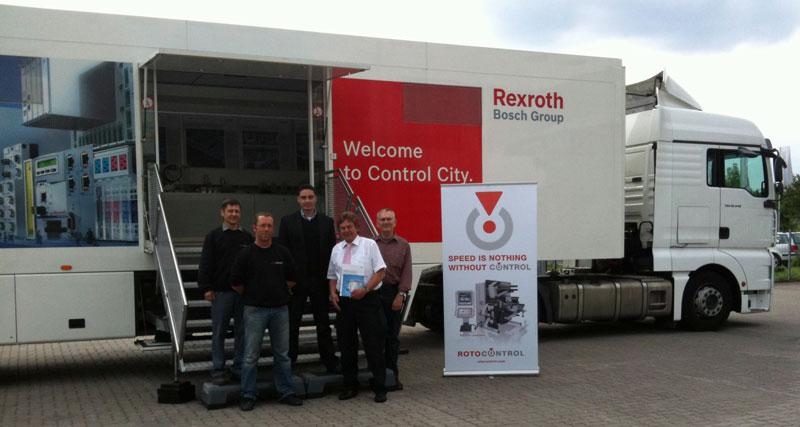 Bosch Rexroth on-site visit to ROTOCONTROL Headquarters in Ahrensburg