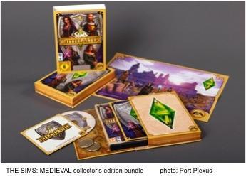 THE SIMS: MEDIEVAL collector's edition bundle, Photo: Port Plexus