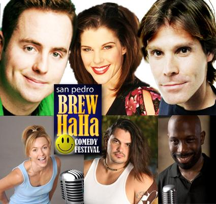 Top Comedians will appear at San Pedro Brewhaha