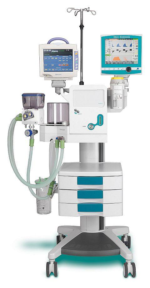 anaesthesia unit TRIGOdis with new options for 2010