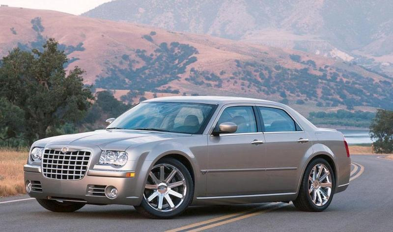 First Car rental offers the Chrysler 300C equipped with GPS