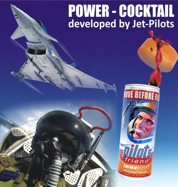 Jet Pilots Power Cocktail is Jet Set Parties Favourite: