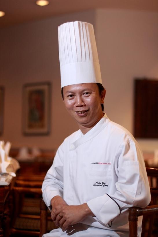 Executive Chef Andy Yeo