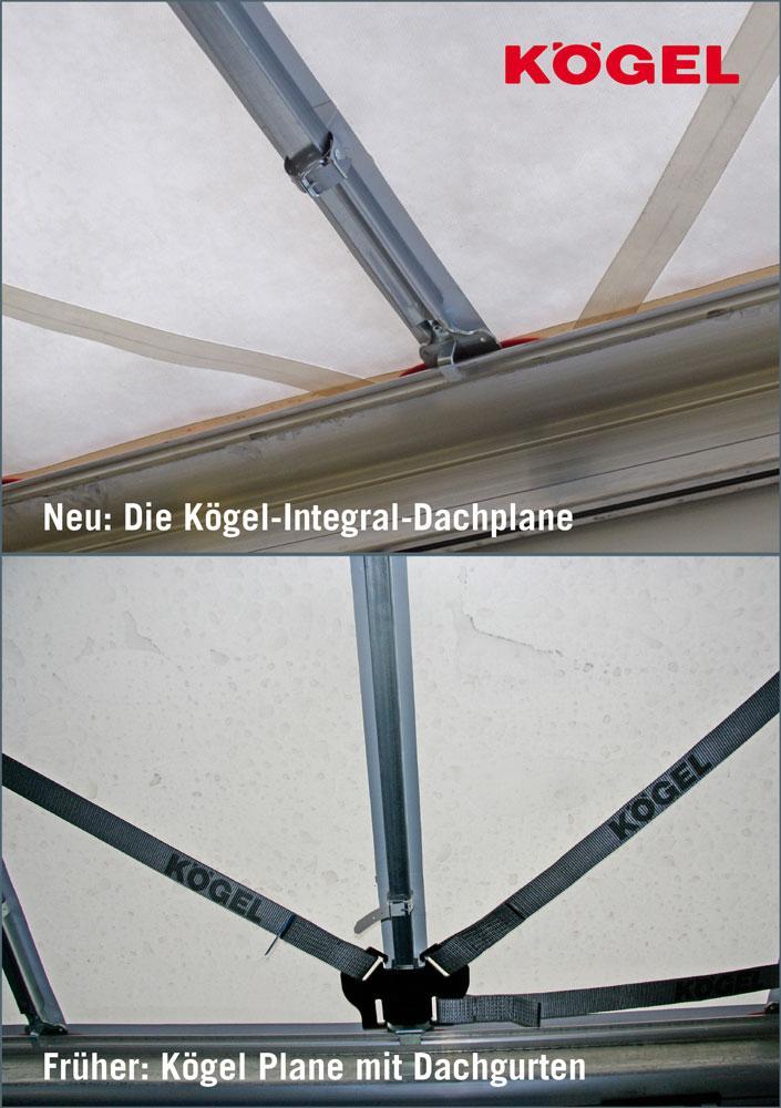 Kögel trailer roof comparison