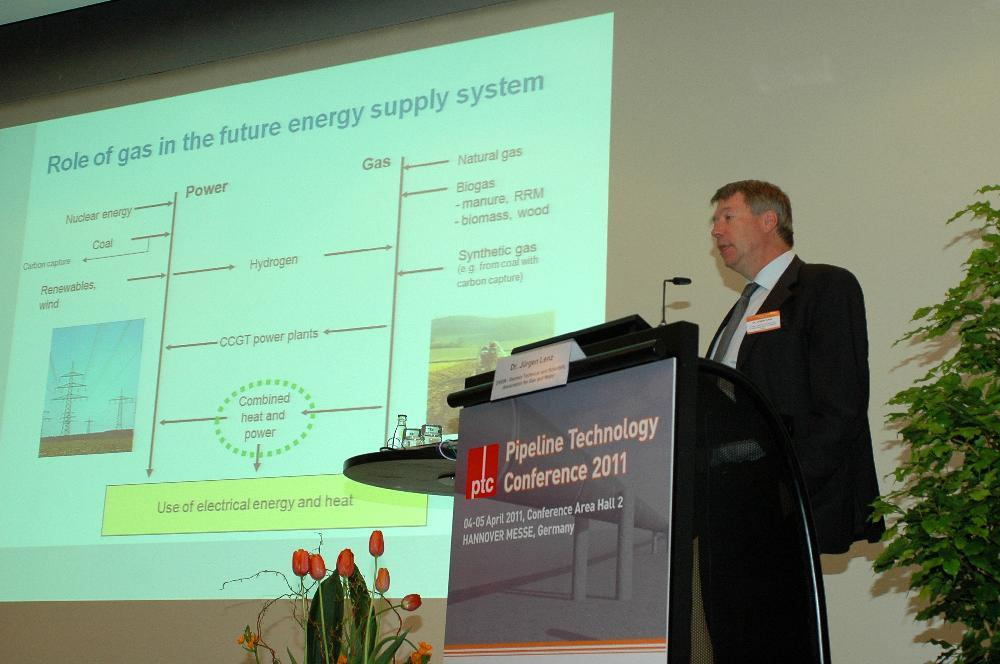 Presentation of Dr. Lenz, E.ON Ruhrgas at Pipeline Technology Conference 2011
