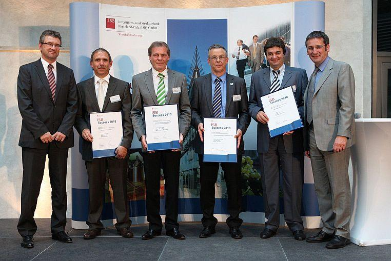 award ceremony ISB Success 2010