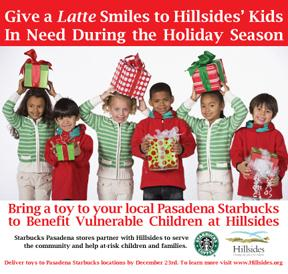 Starbucks Pasadena stores partner with Hillsides to help vulnerable children and families