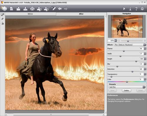 AKVIS NatureArt V.4.0: Create Fire At Your Fingertips With
