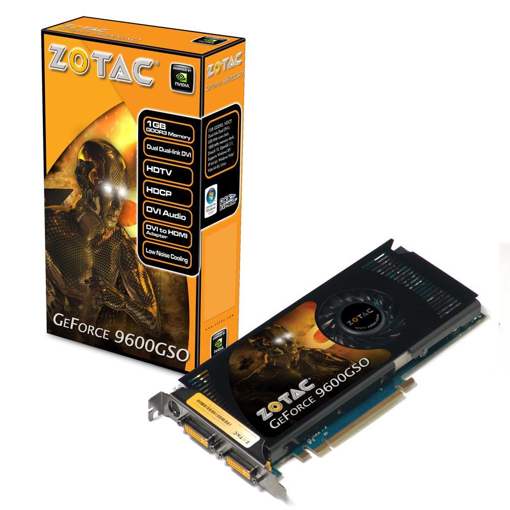 ZOTAC GeForce 9600 GSO Series