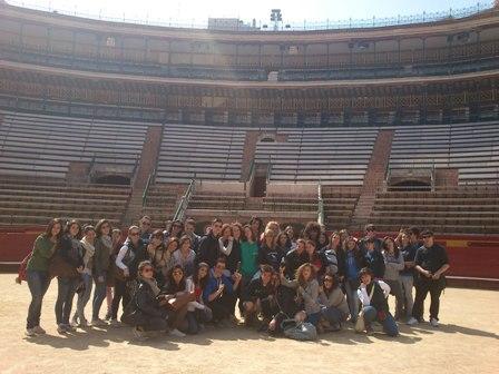 Spanish students in Valencia