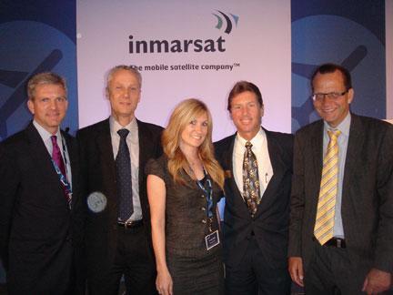 Brian Wilson – Guest Speaker at Inmarsat Conference in Munich