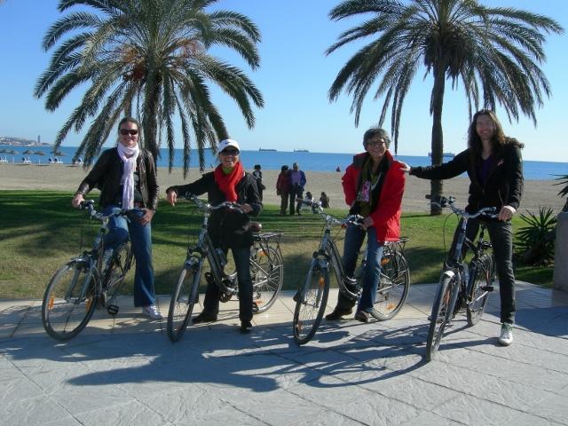 Bike tour in december 2011 - Malagueta Beach
