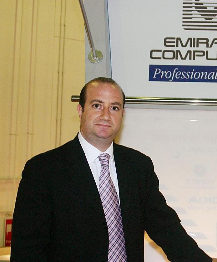 Mr. Haytham Kamel, Emirates Computers' Vice President and General Manager – Dubai & Northern Emirates