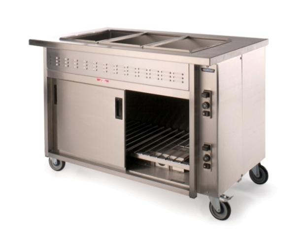 HB13G Bains Marie Hot Cupboard from Moffat