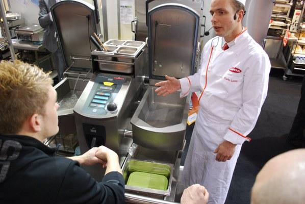 FRIMA's hi tech VCC is demonstrated at Hospitality 2011