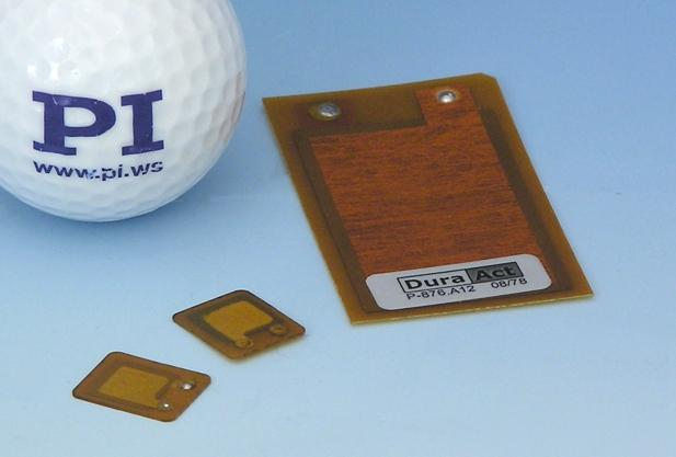 Dimensions of 16x13x0.5 mm open up new fields of application for the latest DuraAct™