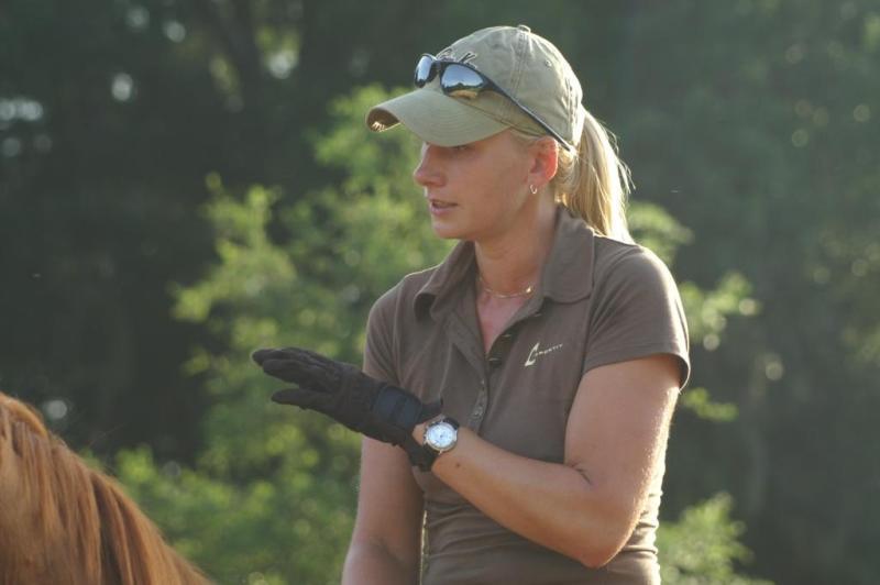 Dressage Trainer Alice Stuebling-Salm