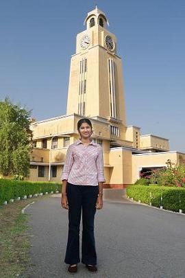 Proud to be a BITSian - Namrata Raman Winner Aditya Birla Scholarship 2007