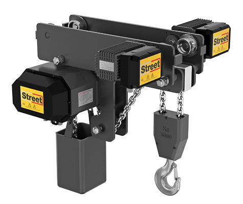 The LX low headroom electric chain hoist is ideal for lifting and handling in workshops with limited overhead space.
