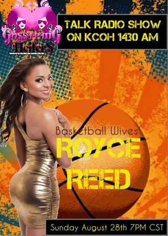 Basketball Wives' Royce Reed Interviewed by The Gossiping
