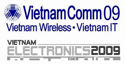 Vietnam Comm 2009 / Vietnam Electronics 2009 - The Largest and Most Significant ICT & Electronics Events in Vietnam