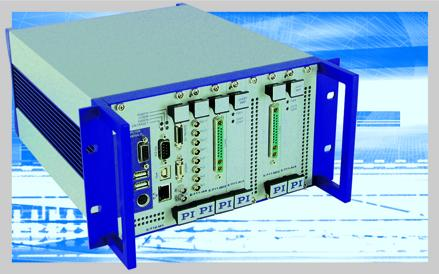E-712 modular digital controller for nanopositioning systems with up to 6 axes