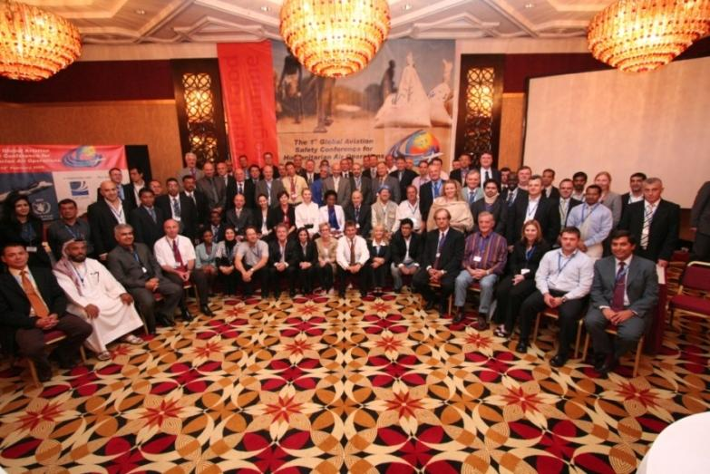 Global Aviation Safety Conference - participants group picture