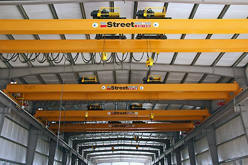 Juffali Heavy Equipment Company (JHECO) has been appointed by Street Crane Company as their exclusive representative in the Kingdom of Saudi Arabia.