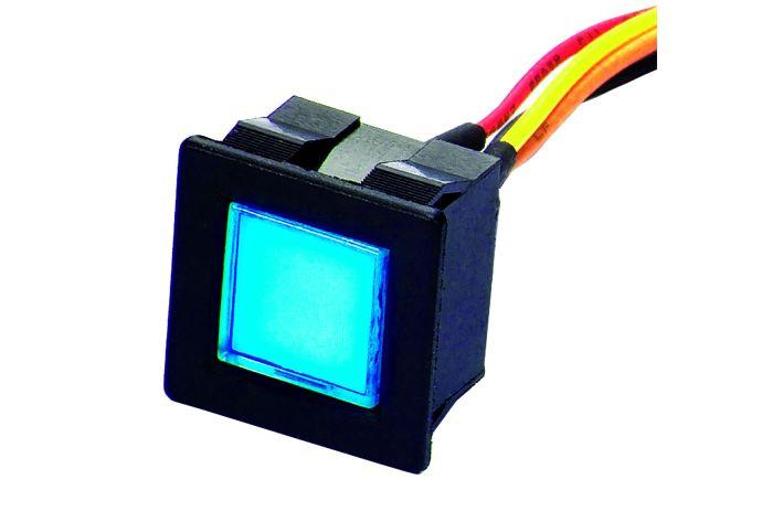 New touch-sensitive switches with LED illumination (BR20 Series)