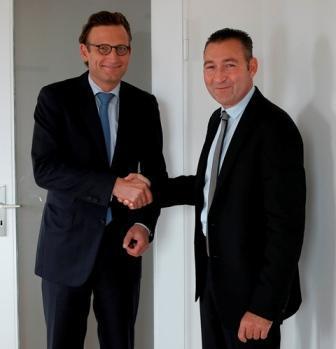 Dr. Peter Schiefer und Alexander Volz