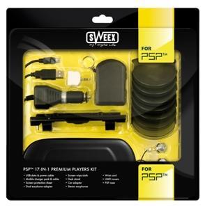Sweex PSP™ 17-in-1 Premium Players Kit