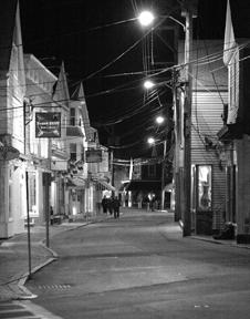 Commercial Street, Provincetown, by William Obernesser