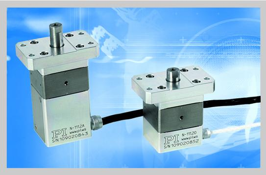 Piezo stepping drives: high resolution, large travel and heavy loads