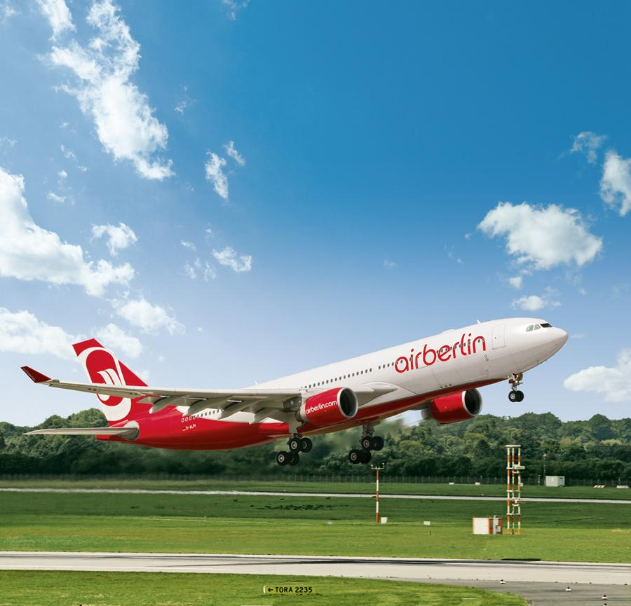 Airbus A330-200 of airberlin