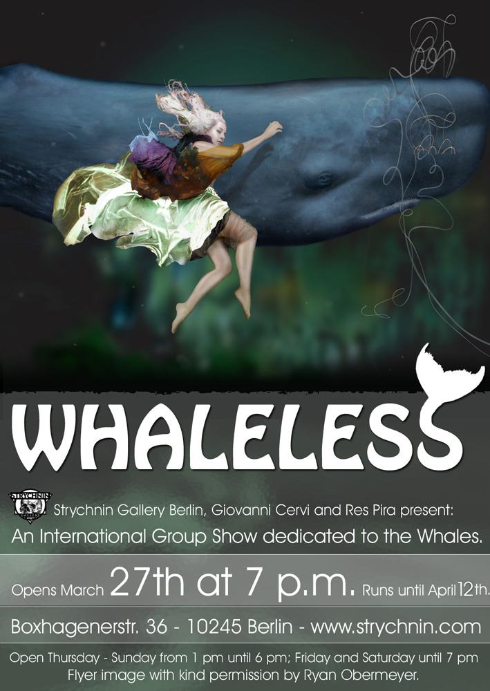 """""""Whaleless"""" features over 30 artists from all over the world."""