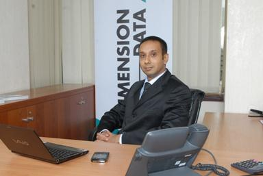 Mr. Siddeek Rahim, Managing Director of Dimension Data